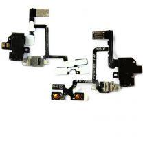 iPhone 4 audio flex kabel - Zwart