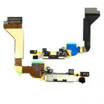 iPhone 4 dock connector flex kabel - Zwart