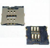Moederbord SIM-kaartlezer socket houder voor iPhone 4|iPhone 4S