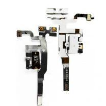 iPhone 4S audio flex kabel - Wit