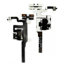 iPhone 4S audio flex kabel - Zwart