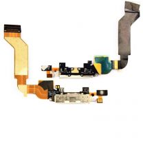 iPhone 4S dock connector flex kabel - Wit