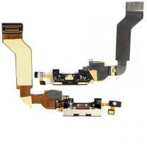 iPhone 4S dock connector flex kabel Zwart