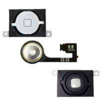 iPhone 4S home button met flex kabel - Wit