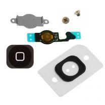 iPhone 5 compleet home button Set Zwart