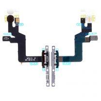 iPhone 6 aan en uit knop flex kabel met metalen houder