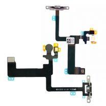 iPhone 6 Plus aan en uit knop flex kabel met metalen houder
