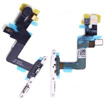 iPhone 6S Plus aan en uit knop flex kabel met metalen houder