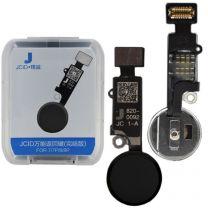 iPhone 7  iPhone 7 Plus  iPhone 8  iPhone 8 Plus   iPhone SE 2 JC home knop Zwart