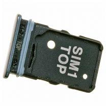 Samsung SM-A805F Galaxy A80 2018 simkaart houder + geheugenkaart houder GH98-44244B Zwart
