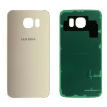 Samsung G920F Galaxy S6 achterkant glas behuizing Goud