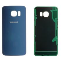 Samsung G928F Galaxy S6 Edge Plus achterkant glas behuizing Zwart